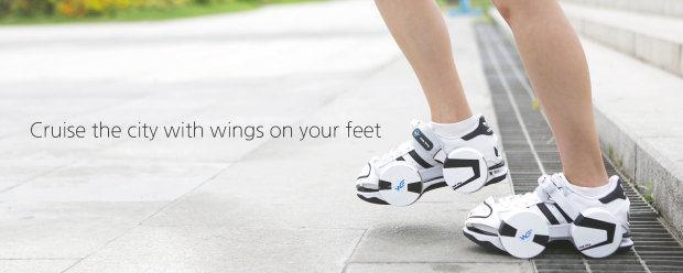 Hybrid Roller Skates : Wheeled Shoes