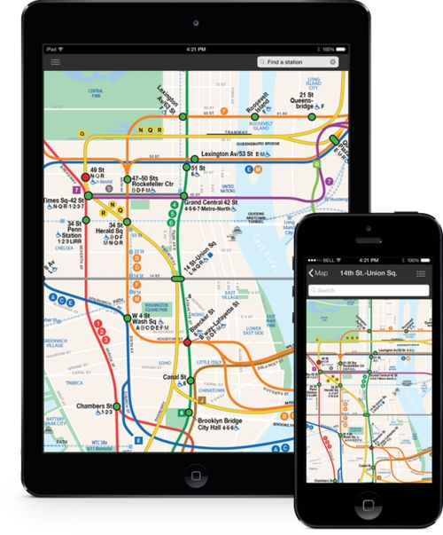 Subway Access Apps