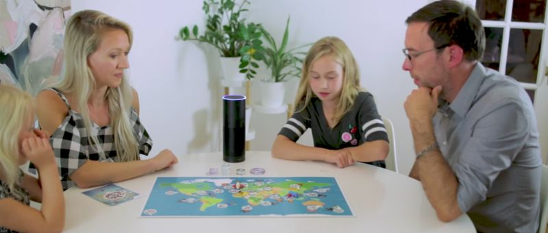 Smart Speaker Board Games