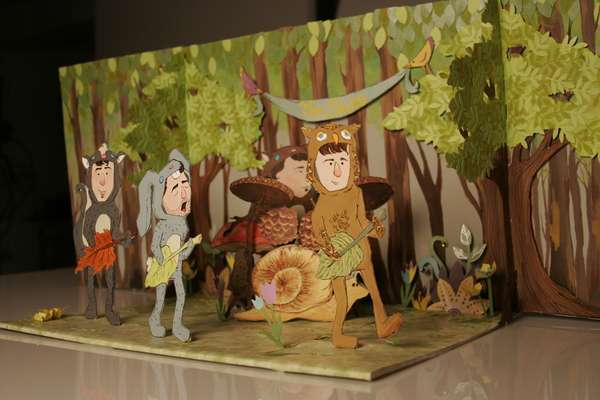 Pop Culture Mashup Dioramas