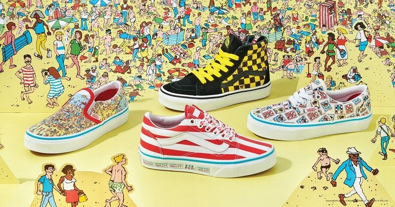 Illusive Character Sneaker Collaborations