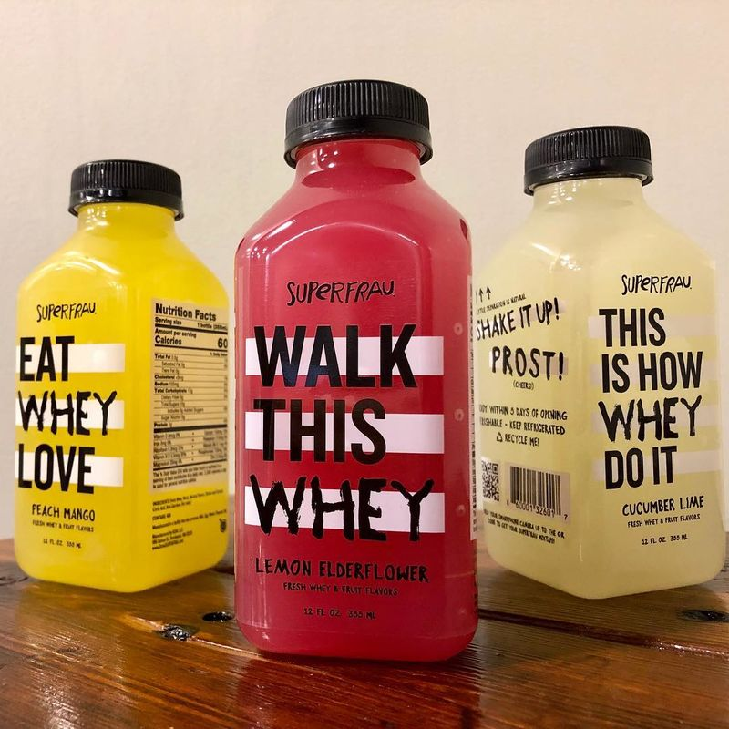 Upcycled Whey Beverages