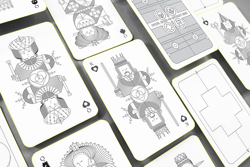 Symbolic Playing Card Designs