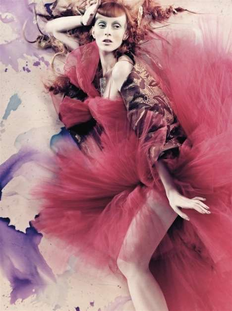 Whimsical Watercolor Editorials