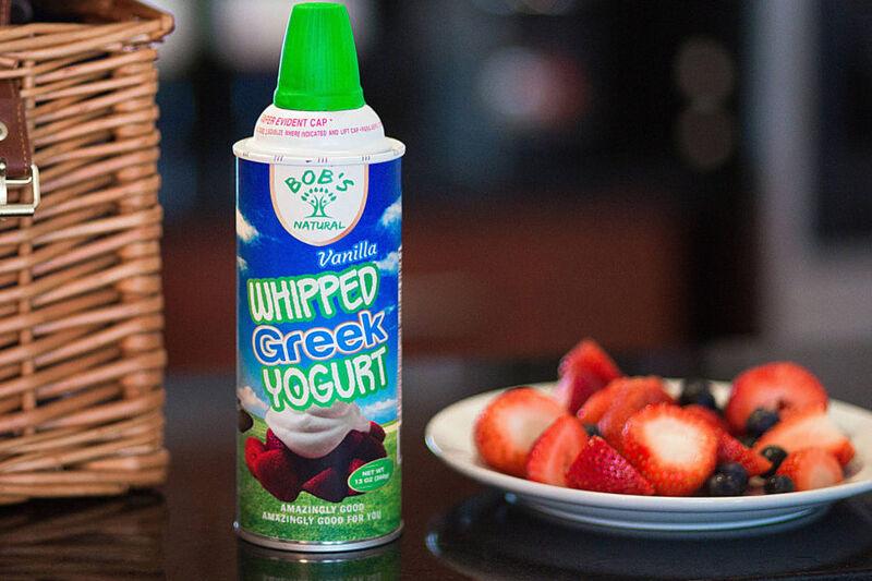 Whipped Yogurt Toppings