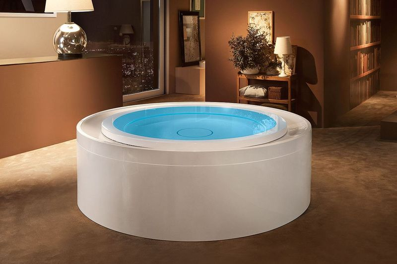 Recirculation Whirlpool Baths : Whirlpool Bath
