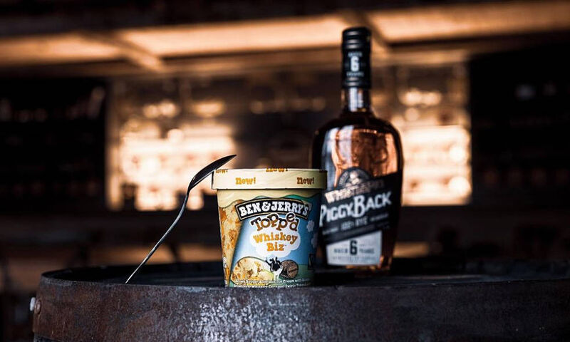 Whiskey-Infused Ice Creams