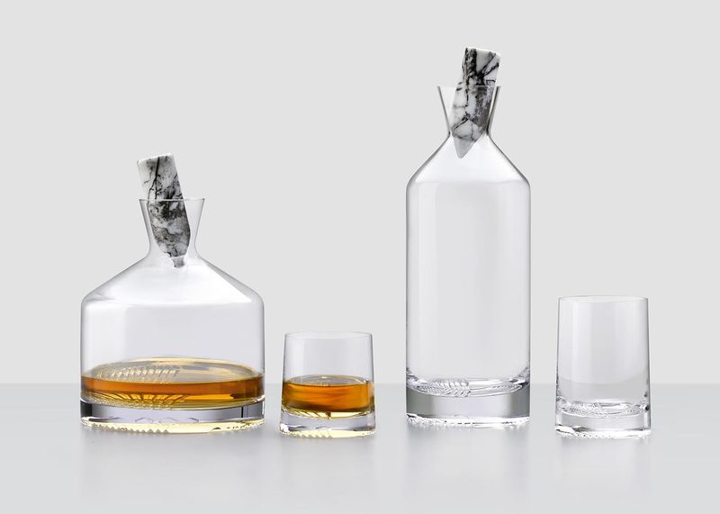 Omnidirectional Whisky Decanters