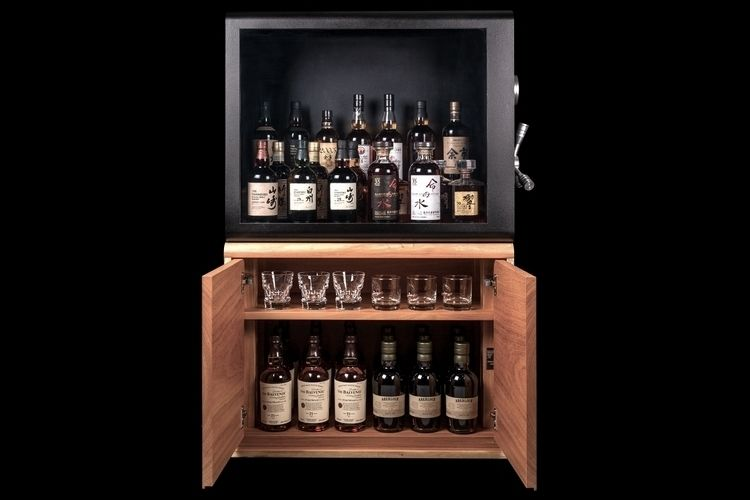 Liquor-Protecting Display Cases