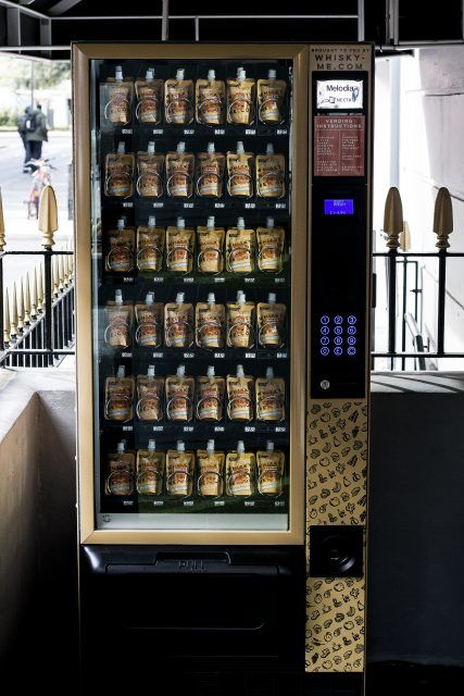 Whisky Pouch Vending Machines