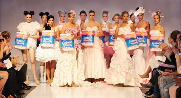 Bathroom Tissue Runway Shows