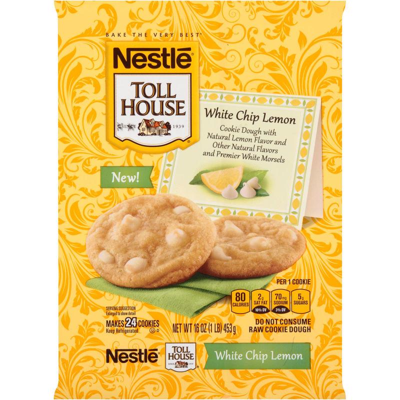 Chocolaty Lemon-Flavored Cookies