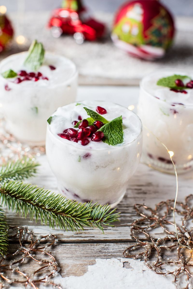 Tropical-Themed Christmas Cocktails