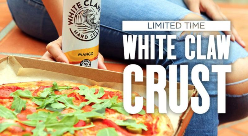 Seltzer-Infused Pizza Crusts