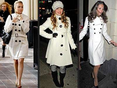 White Hot Fashion: Spring Coats & Jackets