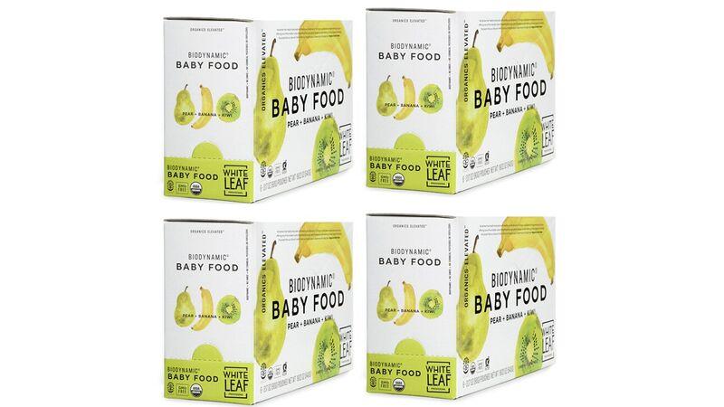 Regeneratively Grown Baby Foods