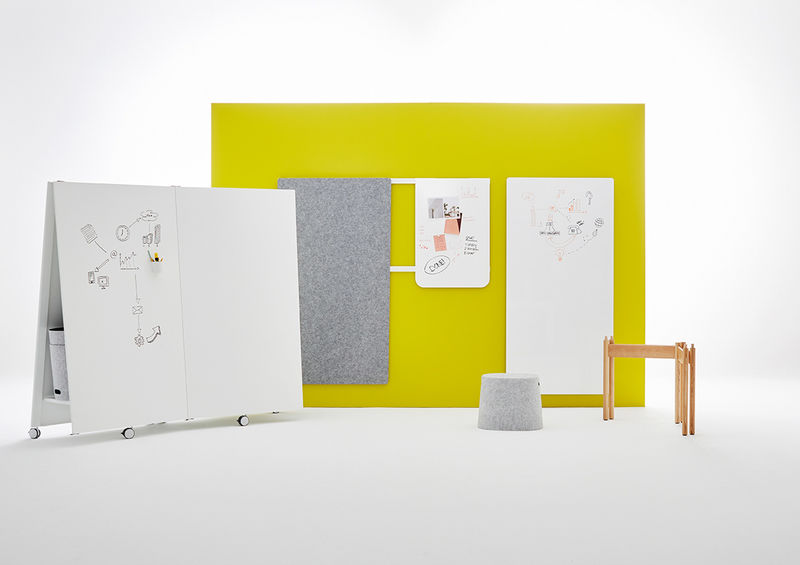 Dual-Purpose Whiteboard Tables