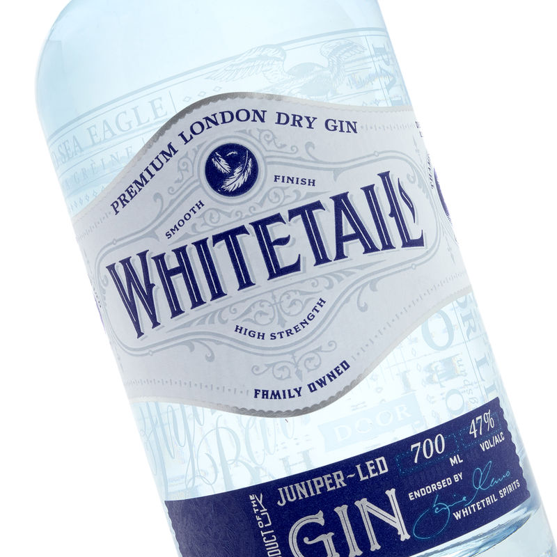 Classically Reinvented Gin Bottles