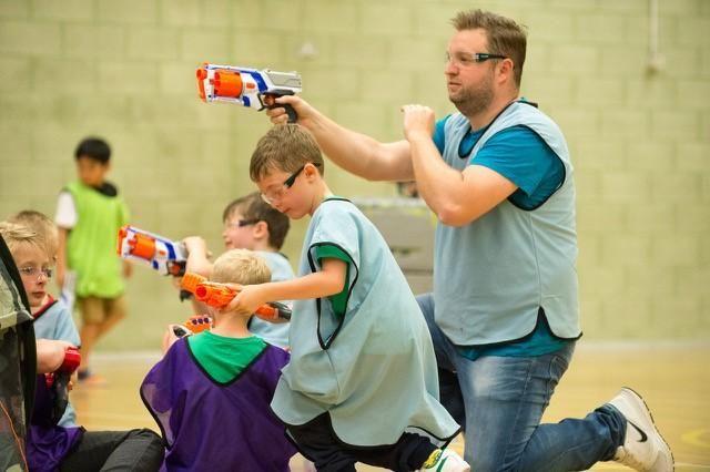 Family-Friendly Dart Gun Wars