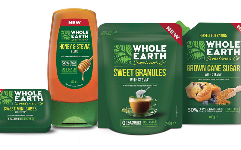 Stevia-Infused Sweetener Products