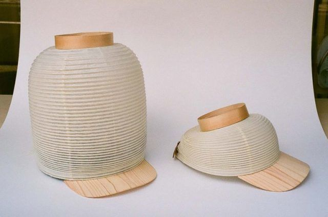 Japanese Lantern-Inspired Hats