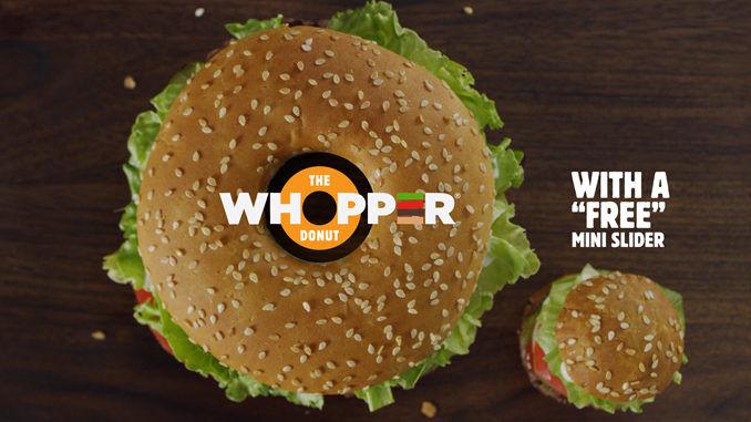 Donut-Celebrating Burgers