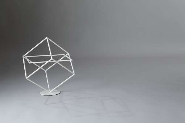 Geometric Wireframe Racks
