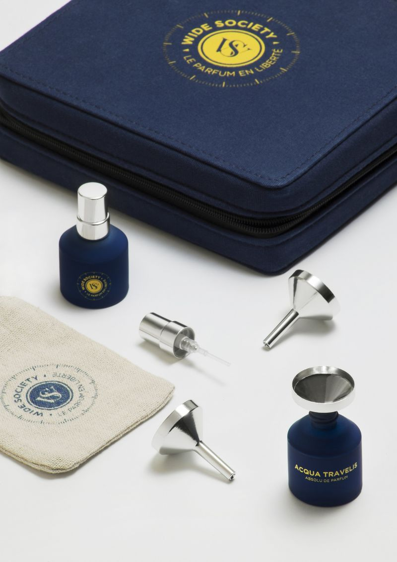 Refillable Travel Perfumes