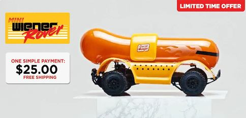 Remote-Controlled Hot Dogs