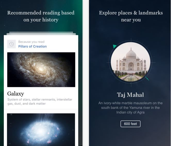 Visually Boosted Encyclopedia Apps