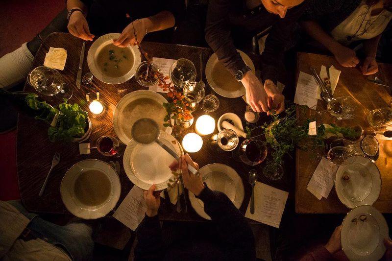 Interactive Organic Dinner Parties