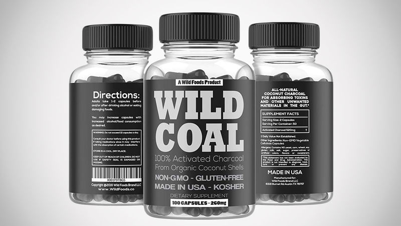 Charcoal Digestion Supplements