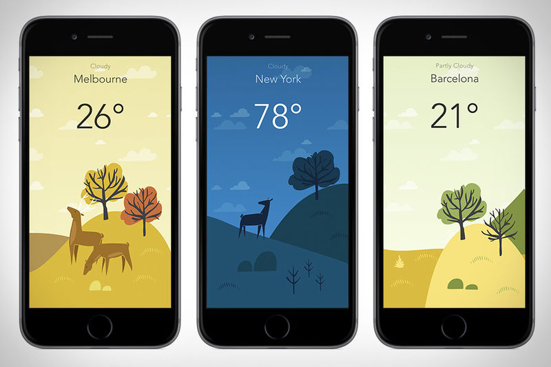 Artwork Weather Apps