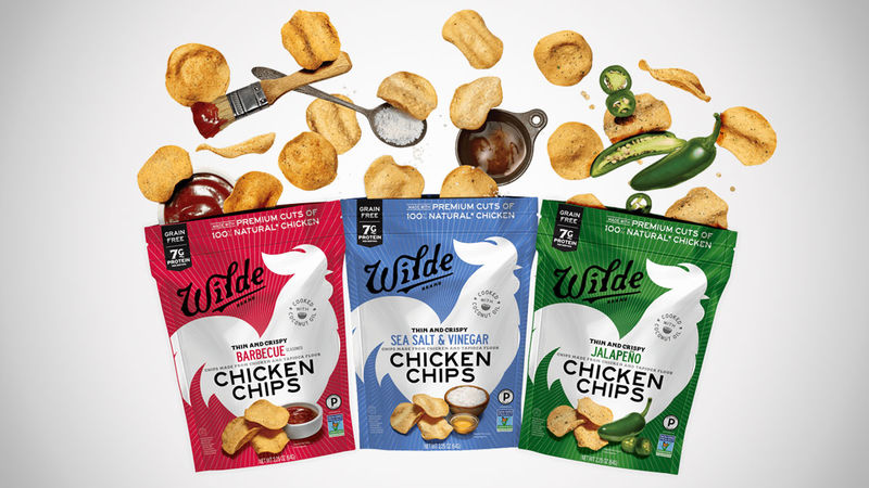 Protein-Packed Poultry Chips