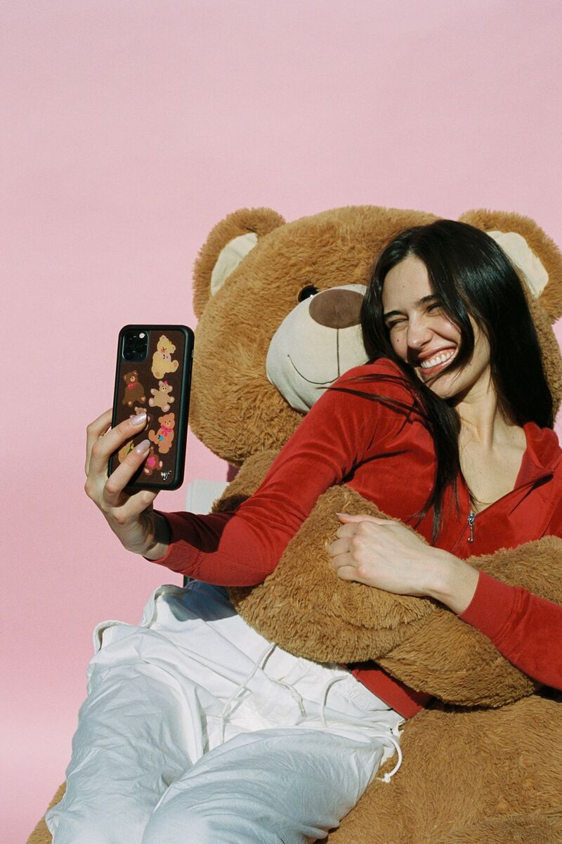 Adorable Bear-Themed Phone Cases