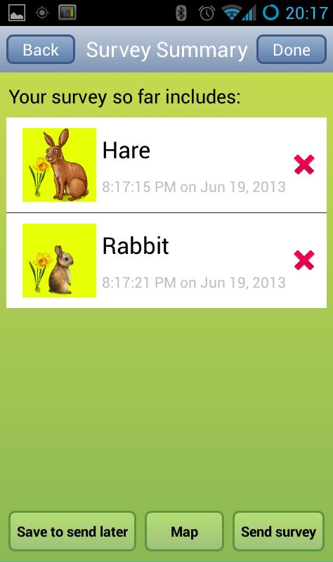 Roadkill-Reporting Apps