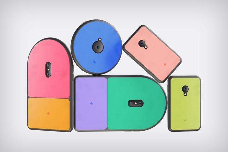 Vibrant Geometric Smartphones