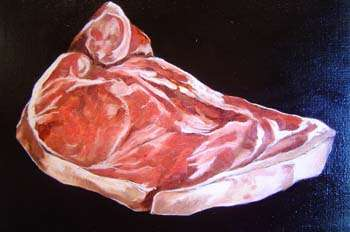 Meat Slabs as Art