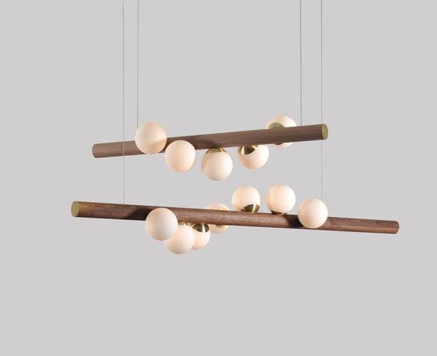 Spiraled Naturalistic Pendant Lights