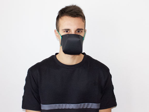 Geometric Paper Face Masks