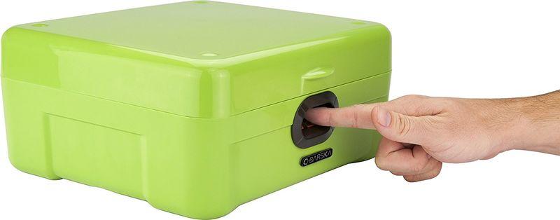 Fingerprint-Scanning Safe Boxes