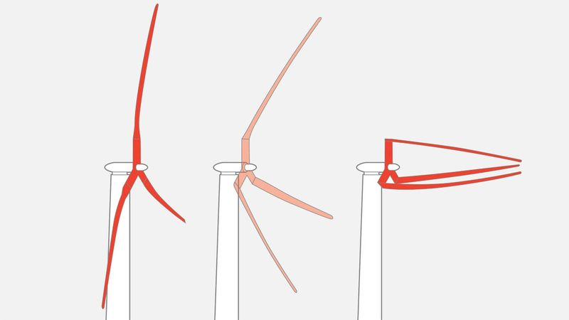 Folding Wind Turbine Designs