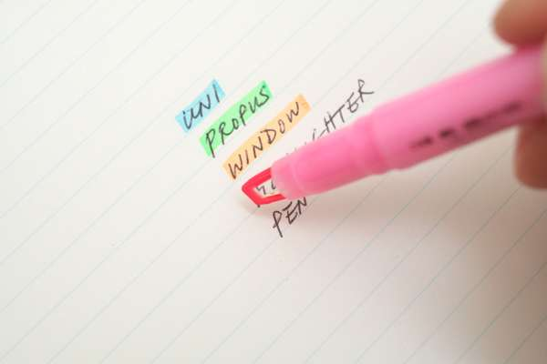 Rainbow Writing Tools