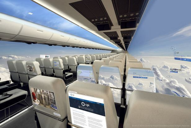 Windowless Plane Concepts