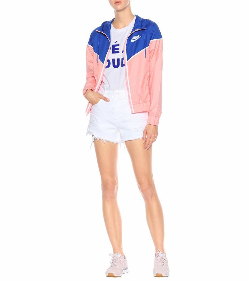 Stylish Color-Blocked Windbreakers