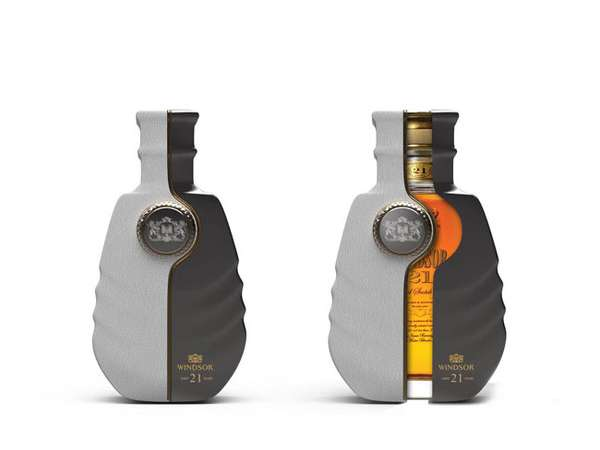 Encased Liquor Branding
