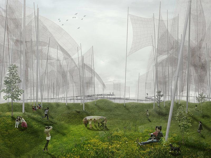 Energy-Generating Public Parks