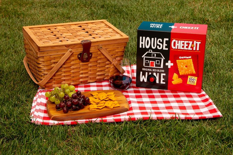 Wine-Included Cracker Boxes