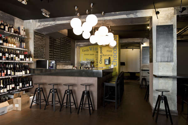 Industrial Wine Bars : wine bar