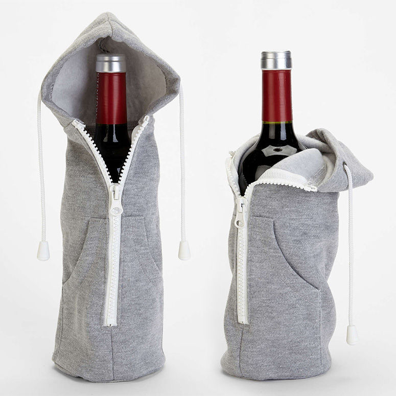 Hooded Wine Sleeves